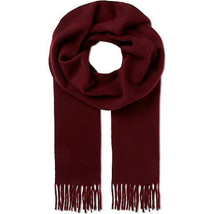 TIGER OF SWEDEN Uberti scarf (Red