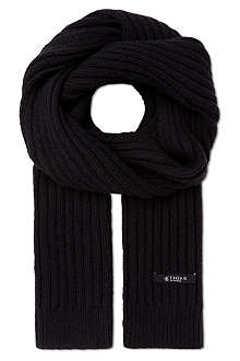 TIGER OF SWEDEN Senesi ribbed scarf