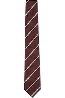 TIGER OF SWEDEN Ciro silk tie
