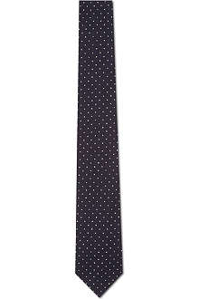 TIGER OF SWEDEN Platonov polka dot tie