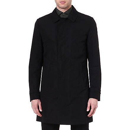 TIGER OF SWEDEN Revere cotton-blend trench coat (Black