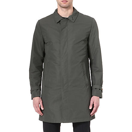 TIGER OF SWEDEN Revere cotton-blend trench coat (Green