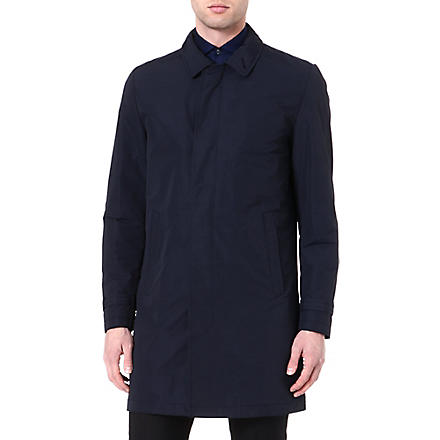 TIGER OF SWEDEN Revere cotton-blend trench coat (Navy