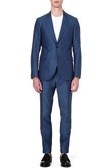 TIGER OF SWEDEN Evert peak-lapel wool suit