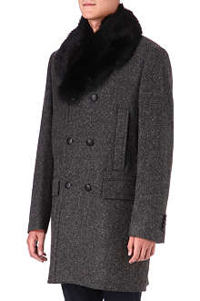 TIGER OF SWEDEN Hard wool coat