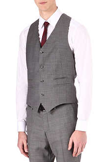 TIGER OF SWEDEN Wool waistcoat