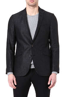 TIGER OF SWEDEN Nedvin slim-fit linen blazer