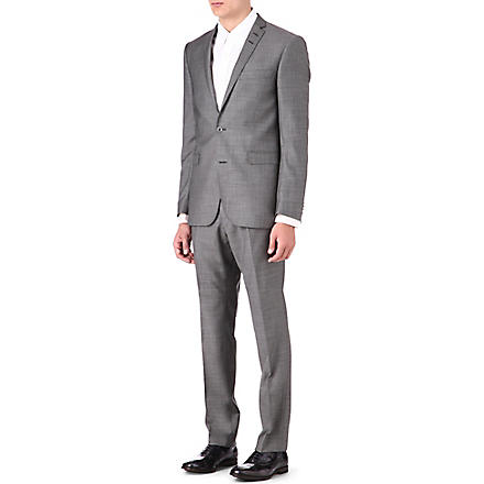 TIGER OF SWEDEN Norden wool suit (Grey
