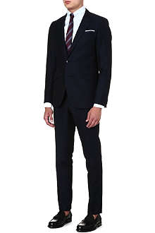TIGER OF SWEDEN Ollie slim-fit linen and cotton suit
