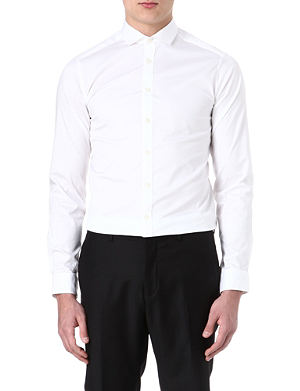 TIGER OF SWEDEN Steel single-cuff shirt