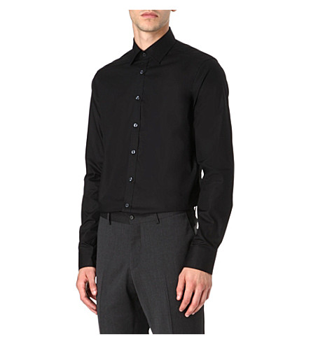 TIGER OF SWEDEN Steel formal slim-fit shirt (Black