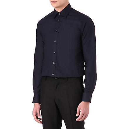 TIGER OF SWEDEN Steel formal slim-fit shirt (Navy