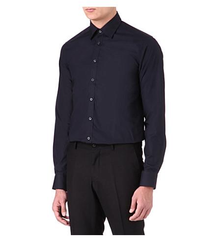 TIGER OF SWEDEN Steel formal slim-fit shirt (Navy