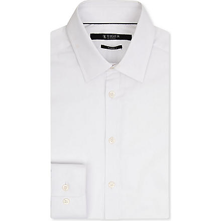 TIGER OF SWEDEN Steel formal slim-fit shirt (White