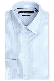 TIGER OF SWEDEN Steel striped slim-fit shirt