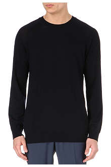 TIGER OF SWEDEN Terry crew-neck merino jumper