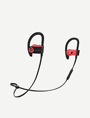 A pair of earphones