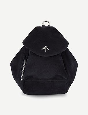 A black rucksack