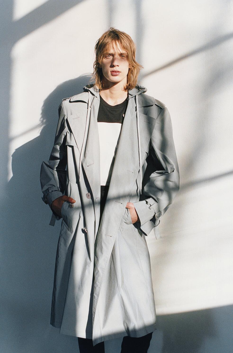 Helmut Lange trench coat
