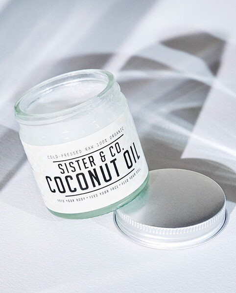 Sister & Co Raw Coconut Oil