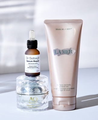 Three skincare products