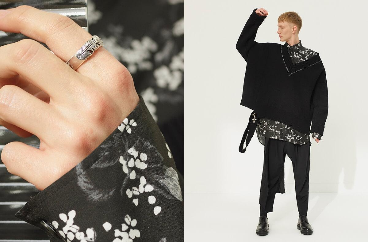 Designer gothic menswear