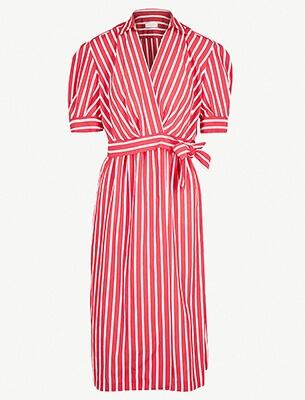 A stripy dress