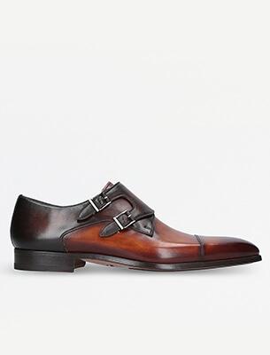 A mens monk shoe