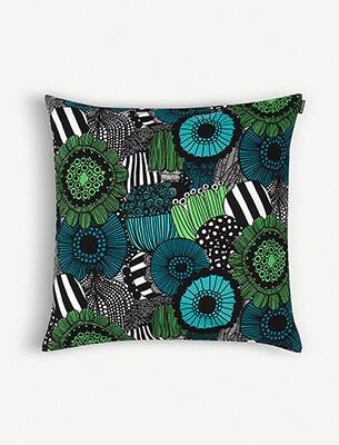 A printed cushion