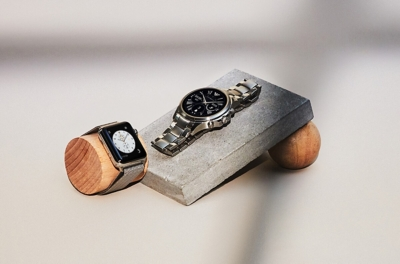 Apple and Armani watches
