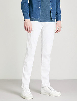 Replay white jeans