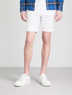 Replay white shorts