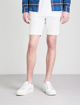 Replay white shorts