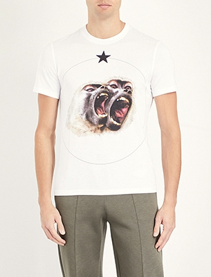 Givenchy monkeys T-shirt