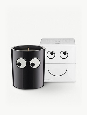 A candle and box