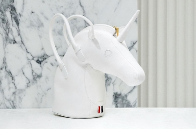 Thom Browne unicorn bag