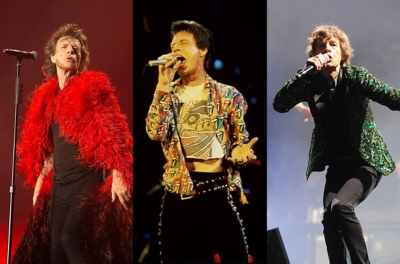 Mick Jagger stage outfits