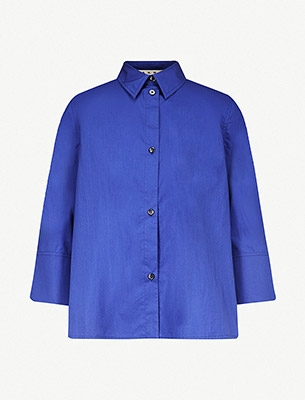 Marni cropped sleeve shirt