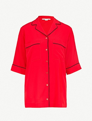 Stella McCartney Piped Trim Shirt