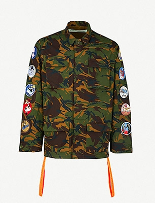 Off-White Camouflage Jacket