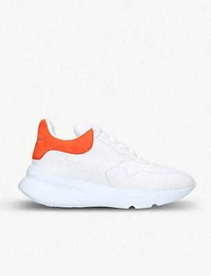 A white sneaker