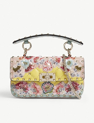 A floral Valentino bag
