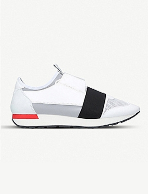 A mens Balenciaga trainer