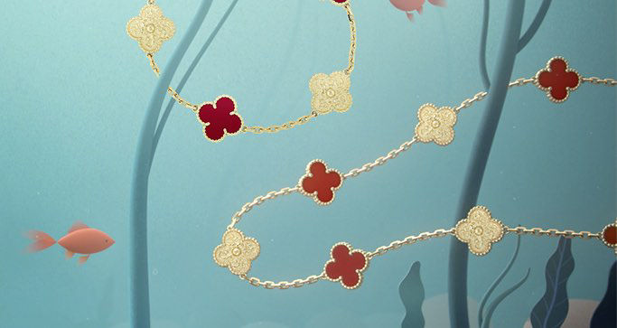 EXCLUSIVE: VAN CLEEF & ARPELS ALHAMBRA