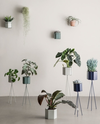 A collection of Ferm Living pots and vases