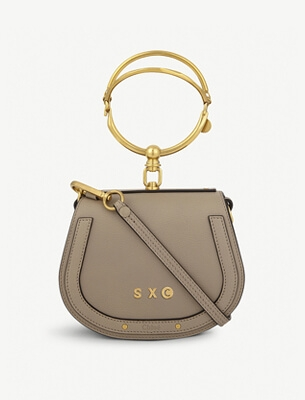 A personalised Chloe bag
