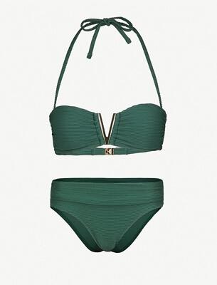 A green bikini