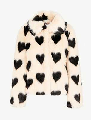 Shrimps faux fur jacket