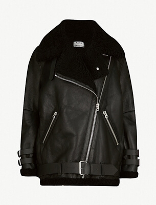Acne Studios aviator jacket