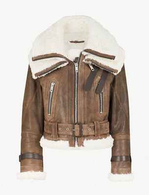 Burberry aviator jacket